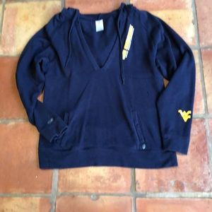 WVU Hooded Sweatshirt women's